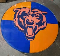 Chicago Bears coffee table Chicago