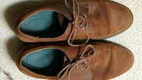 SHOES - Men's Suede Brown Size 12 Stafford, 22554