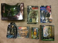 six assorted action figures in packs Coquitlam, V3J 7T7