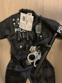 BNWT Police and Storm trooper costume  Vancouver, V6N 1A4