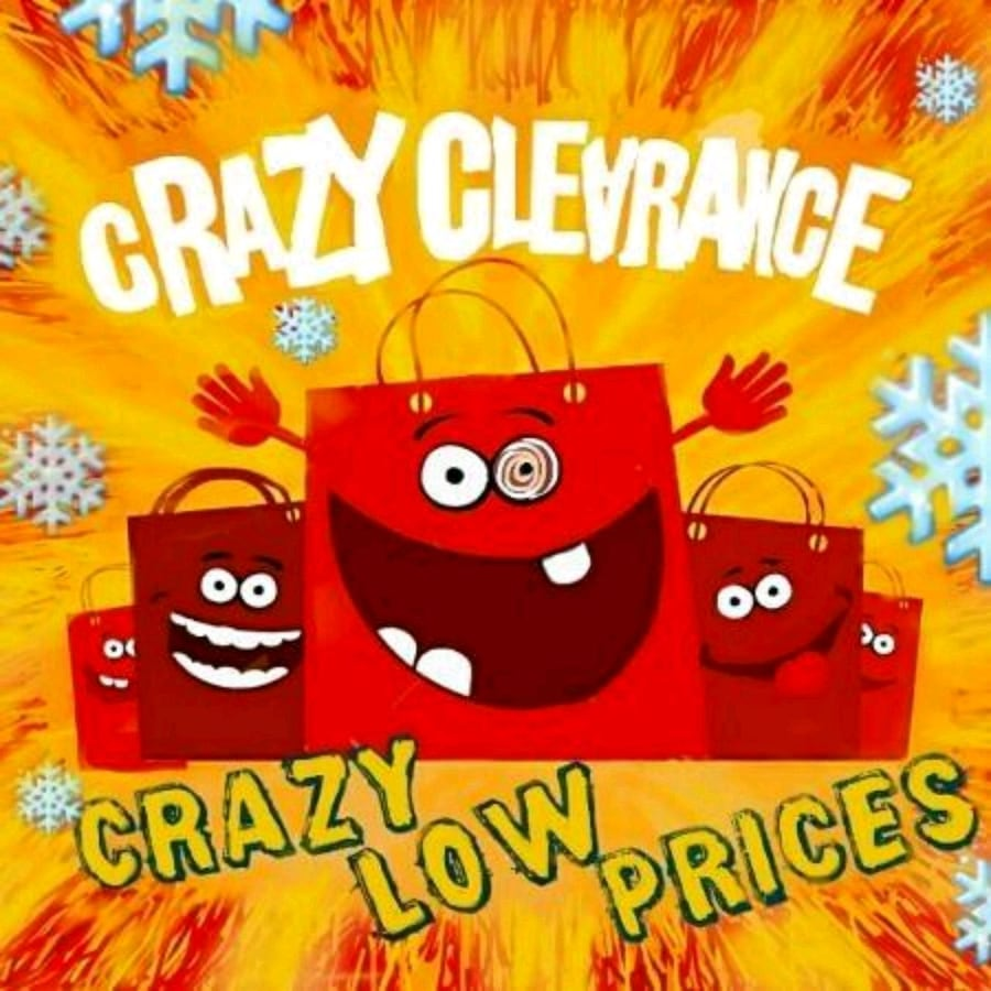 Crazy Winter Clearance Sale