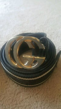 black and gray Gucci belt Surrey, V3X 1P3