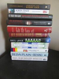 assorted books 5 for all Edmonton, T5T