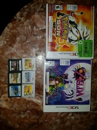 Nintendo 3ds games  Mississauga, L4W 4A1