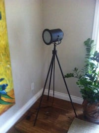 Tripod Photographer's Floor Search Lamp Burlington