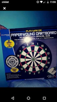 New dart board