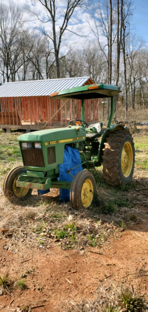 Photo John deere 1050 for parts