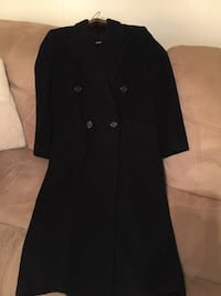 Ladies CASHMERE BLACK; DBL.BREASTED; WINTER COAT‼ Size 8 Petite; Hardly Worn, in PERFECT CONDITION‼ Price: $50‼ Mardela Springs, 21837