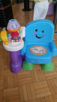 blue and green Fisher-Price chair Toronto, M1P 4P2