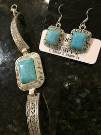 Set of bracelet and earrings Lutherville Timonium, 21093