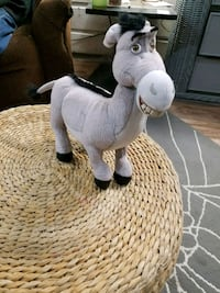 white and gray rocking horse Galena, 66739