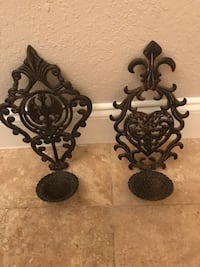 Metal candle holder wall Sconces Pompano Beach, 33064