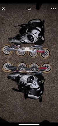 Pair of black-and-gray inline skates Atlanta, 30326