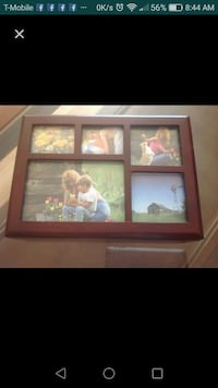 Unique collage frame keepsake wooden box
