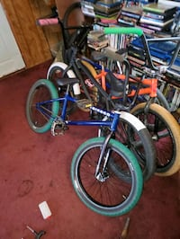 Blue fitbikeco bmx (Brian foster signature)