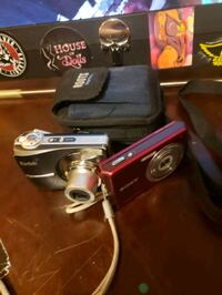 Two digital cameras  great shape and one 64g card Calgary, T2A 6J1