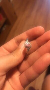 Pink Sterling Silver Ring Anderson, 29621
