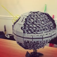Death Star (made by lepin) Chantilly, 20152