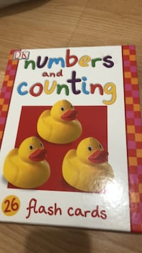 New DK numbers and counting flash cards. They were a gift Laval, H7T 1C8