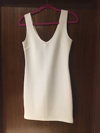 Forever 21 F21 NEW white bandage mini dress