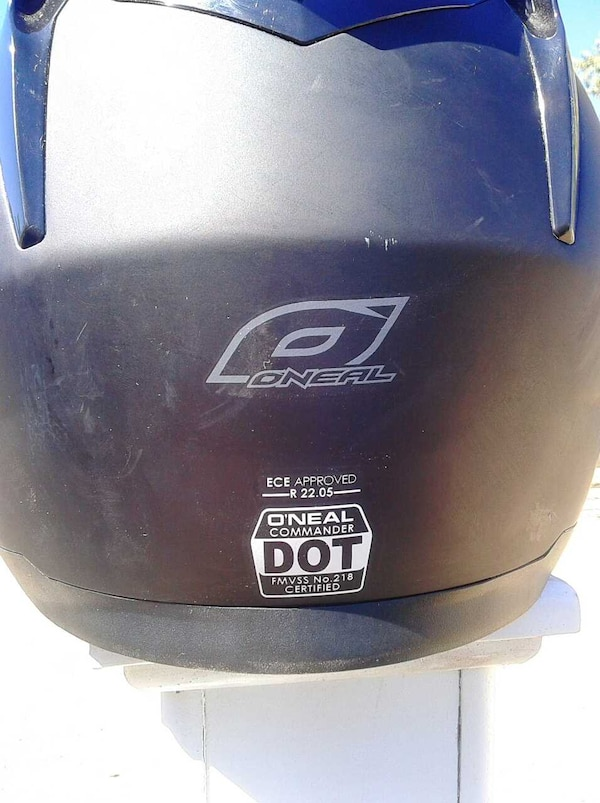Used O Neal Camander Helmet W Bluetooth For Sale In San Bernardino