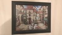 brown wooden framed painting of house Brampton, L6X 4S3