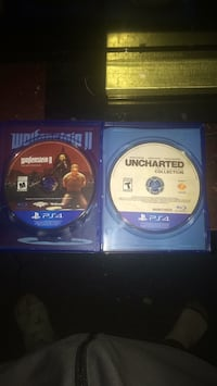 Two sony ps4 game discs Edmonton, T5Z 2A9