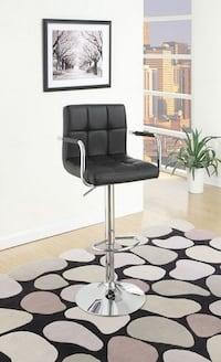Brand New Black Leather Bar Stool Barstools  Brea, 92821