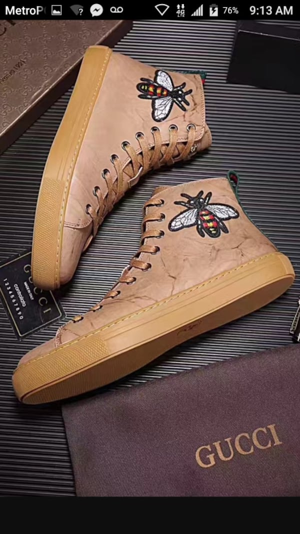 BY ORDER ONLY Preowned Gucci World Collection Sneakers size 6-12 5fd0c6e5-6fe1-4d9d-98b6-1be12a51ed85