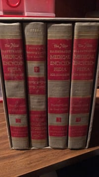 four assorted-title books Laval, H7W 3P6