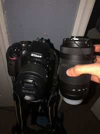 Nikon d3400 two lenses included Kissimmee, 34744
