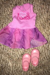 American Girl dance outfit