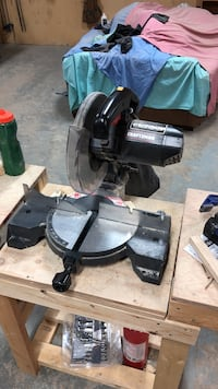black and gray miter saw Regina, S4S 4R3
