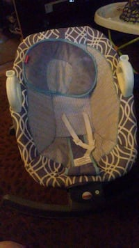 Baby's black and gray rocker bouncer Foley, 36535