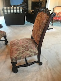 Dining chairs. Six total. Two are arm chairs. $50.00 a piece.  Oklahoma City, 73134