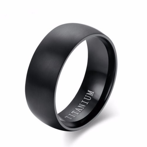 Black Titanium Bands