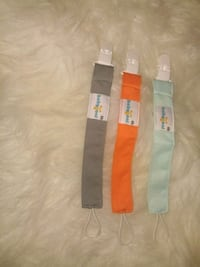 Set of three pacifier clips Lanham, 20706