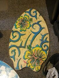 white, blue, and yellow floral print body board Acworth, 30102