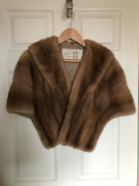 brown and black fur coat Kitchener, N2G 1W3