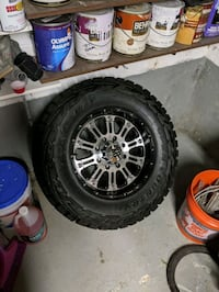XD 795 18x10(8x6.5) with 33x12.5x18 Toyo Old Bridge Township, 08857