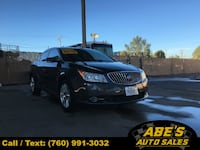 2013 Buick LaCrosse 4dr Sdn Leather FWD Ramona, 92065