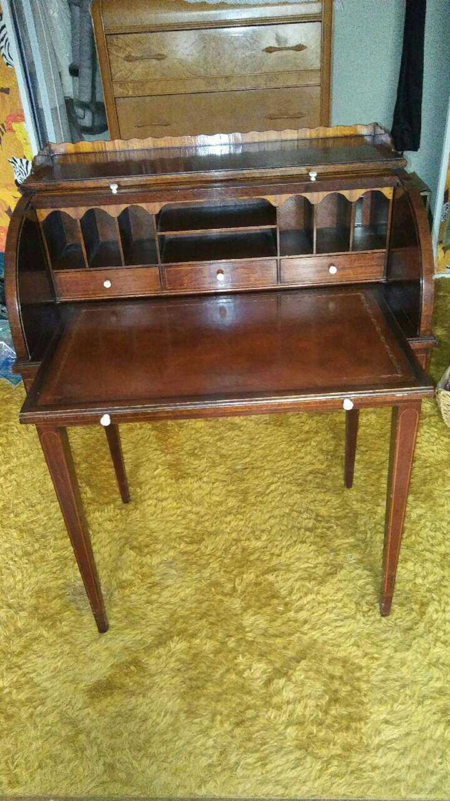 Used Vintage Roll Top Desk In Las Vegas J Jfordvintage
