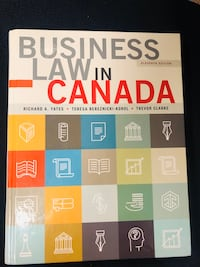 BUSINESS LAW IN CANADA Vancouver, V6E 1A1