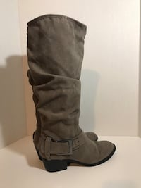 Sam & Libby Knee High Slouchy Boots (Taupe,8) Milton, L9T 4K1