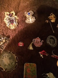 Collection of vintage pins Gainesville