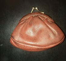 Cowhide Ladies Coin Purse
