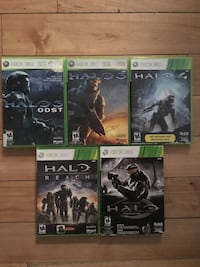 Xbox 360 Halo Games Lot Surrey, V4N 0B8
