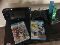 Wii U gaming system, 3 controllers and 2 games  Pflugerville, 78660