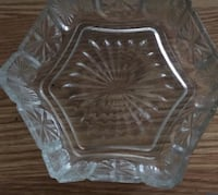 VINTAGE HEXAGON SHAPED GLASS DISH Denver, 80224