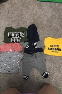 Baby clothes x6 Wyoming, 49519
